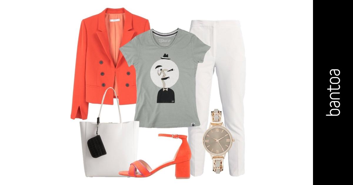 Versatile T Shirt Outfit Donna Basic Per Ufficio E Tutti