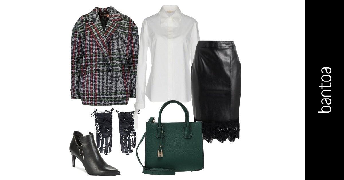 Una giacca vintage  outfit donna Trendy per ufficio e tutti i giorni | Bantoa