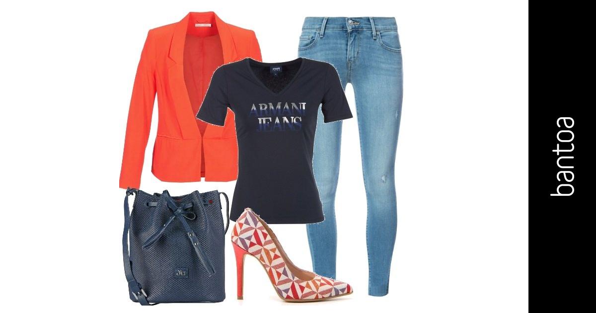 Tacchi E Jeans In Ufficio Outfit Donna Trendy Per Ufficio