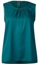 Street One 311933, Canottiera Donna, Grün (Teal Green 11270), 46