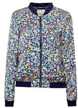 ESPRIT 038ee1g019, Giacca Donna, Multicolore (Navy 400), Small